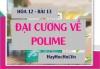 Tính chất hóa học của Polime, Cách điều chế và Ứng dụng của Polime - Hóa 12 bài 13